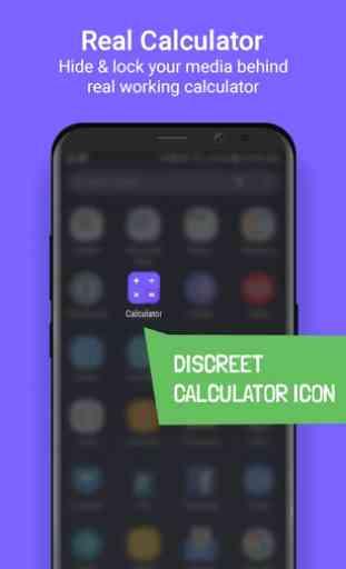 Calculator Lock - Hide Photo, Video lock, AppLock 4