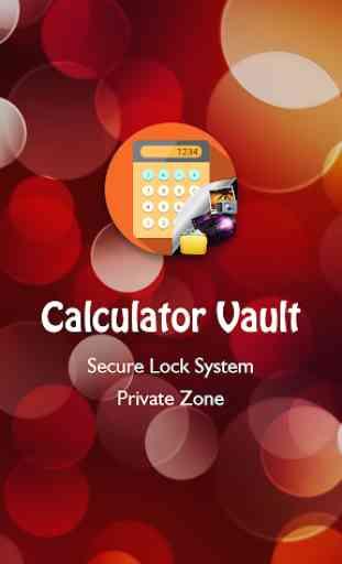 Calculator vault - Gallery Lock 2