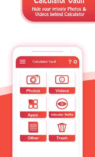 Calculator Vault: Hide Photos & Videos 1