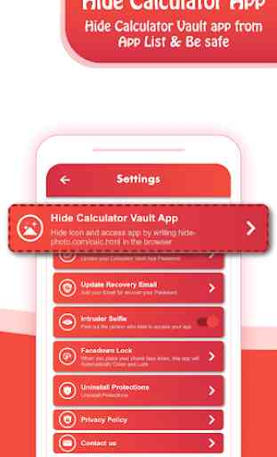 Calculator Vault: Hide Photos & Videos 2