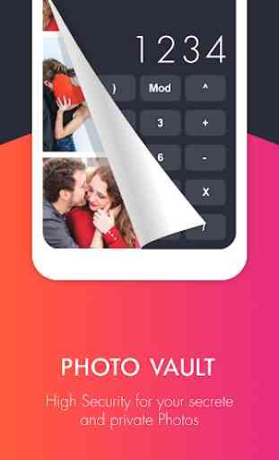 Calculator Vault: Secrete Photo, Video & Password 2