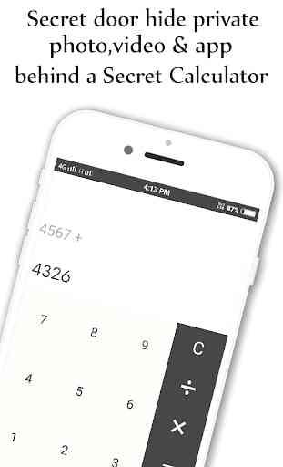 Photo,Video Locker-Calculator Vault 1