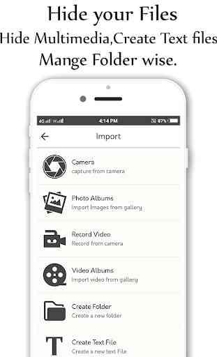 Photo,Video Locker-Calculator Vault 2