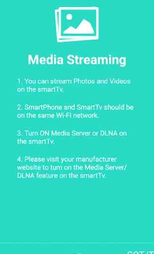 DLNA Media Stream & Mirroring 3