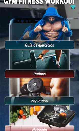 Gym Fitness & Workout : Entrenador Personal 1