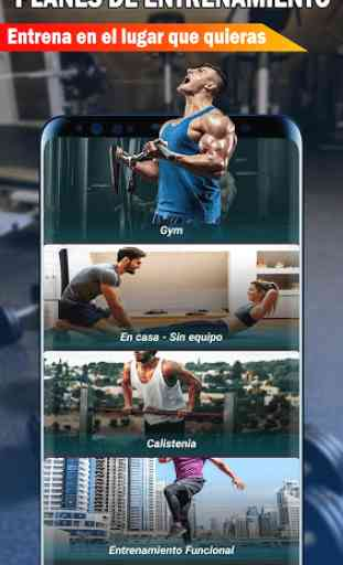 Gym Fitness & Workout : Entrenador Personal 2