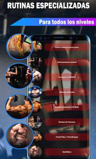 Gym Fitness & Workout : Entrenador Personal 3