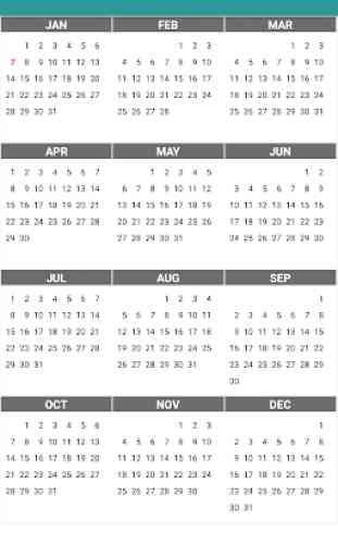 Calendar Daily - Planner 2020 1