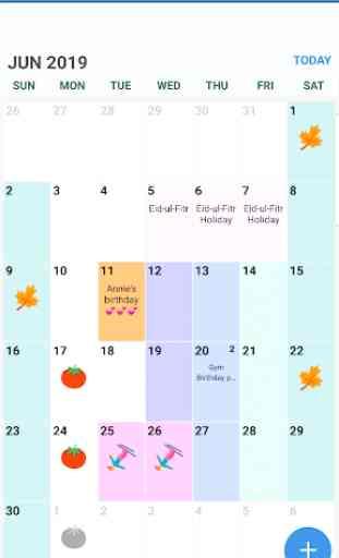 Pakistan Calendar 2019 and 2020 2