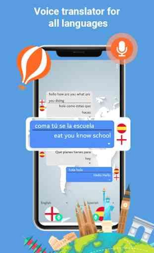 Habla y traduce - Traductor de conversaciones 2