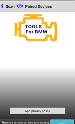 OBD2 AC Tools for BMW 1