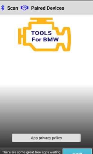 OBD2 AC Tools for BMW 4