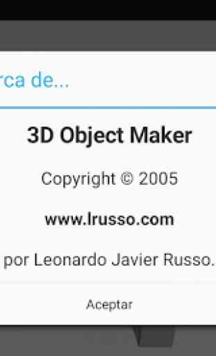3D Object Maker 2