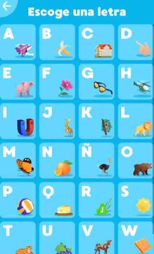 Alfabeto: Aprende y Juega en 7 Idiomas 2