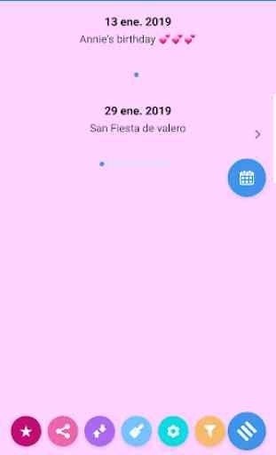 Calendario España 2019 y 2020. 4