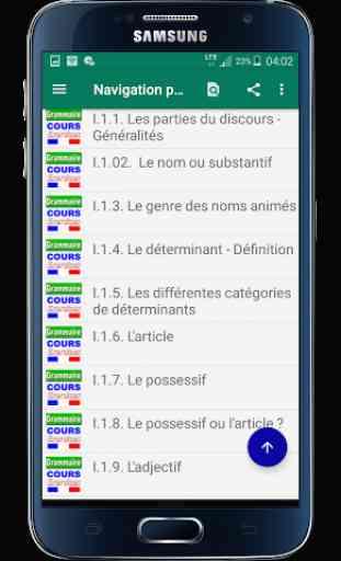 Grammaire Cours et Exercices (sans internet) 2
