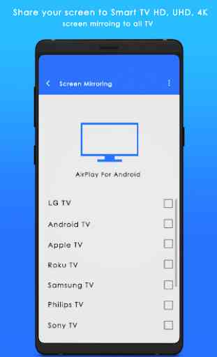 Airplay For Android & Screen Stream Mirroring 1