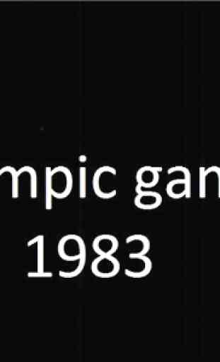 Olympic Game 1983 2