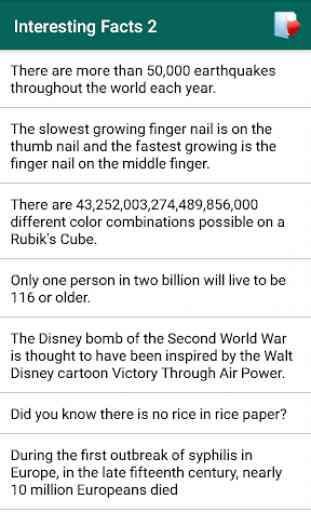 9999+ Interesting Facts 4