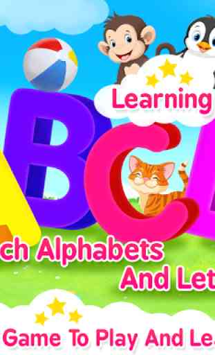ABC Kids: Learning games for kids! Preschool Games 1