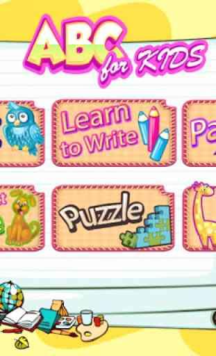 ABC Kids Preschool Learning : Educational Games 1