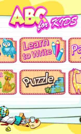 ABC Kids Preschool Learning : Educational Games 4