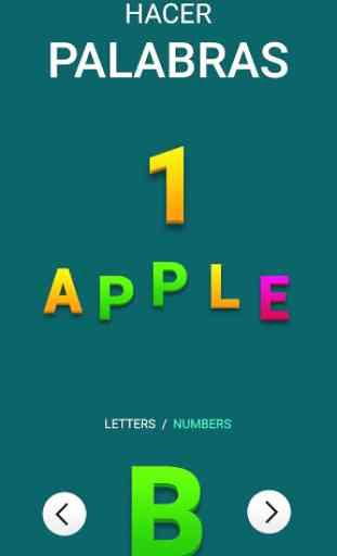 Abecedario Inglés y Números! Aprender para Niños 4