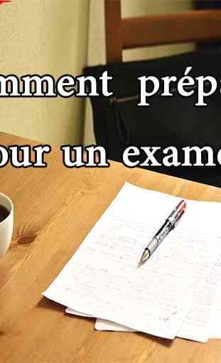 Comment préparer pour l'examen 1