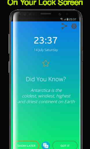 Did You Know? (Lock Screen - Fun Facts - Offline) 2
