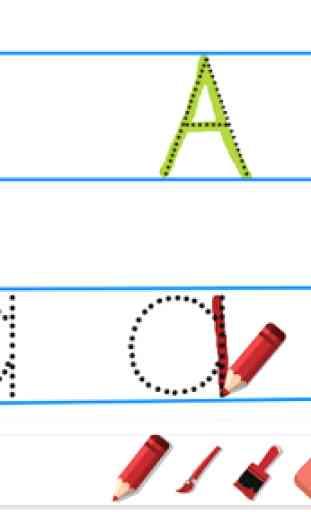 Escribir alfabeto 2 2