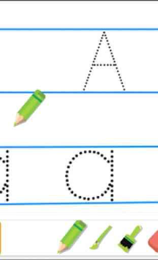 Escribir alfabeto 2 3