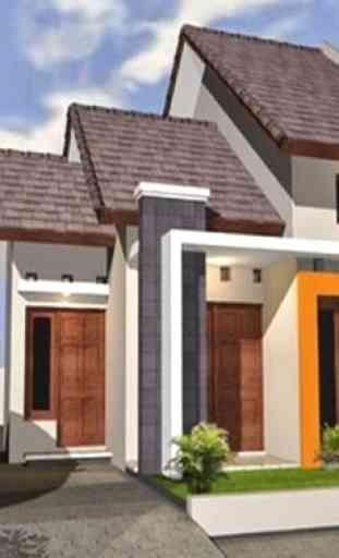 Diseño de Casa, Techo, Plan 3D Completo 4