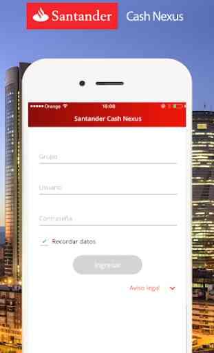 Santander Cash Nexus 2