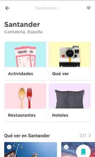 Santander Guía turística y mapa ⛵ 1