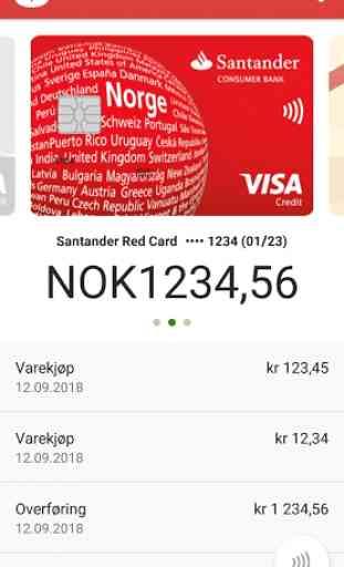 Santander My Cards 1