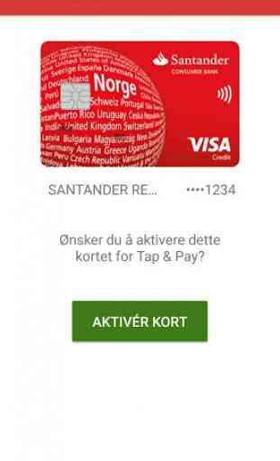 Santander My Cards 2