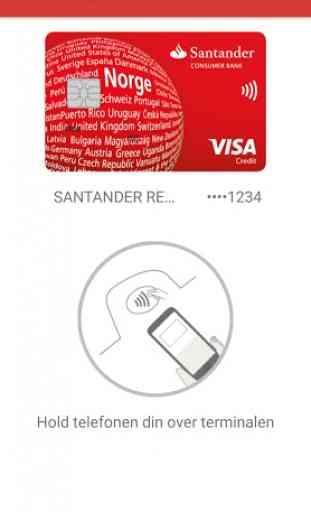 Santander My Cards 3