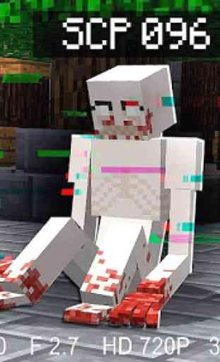 SCP 096 Mod + Skin for Minecraft PE 2