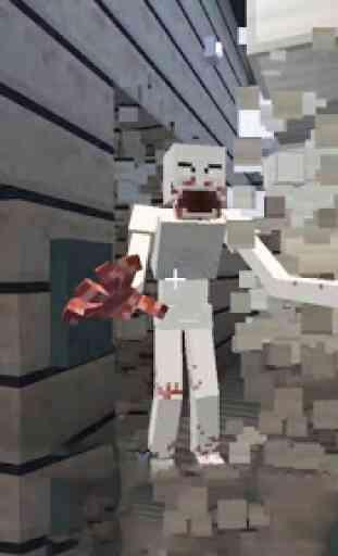 SCP 096 Mod + Skin for Minecraft PE 4
