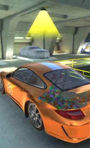 911 GT3 Drift Simulator 4