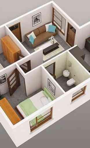 Inicio diseño de interiores 3d 1