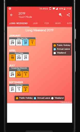 Canada Calendar - Holiday & Note (Calendar 2020) 4