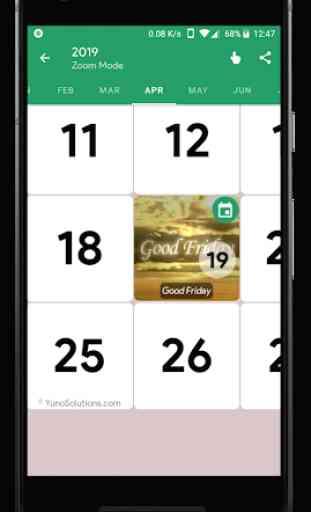 Ireland Calendar 2