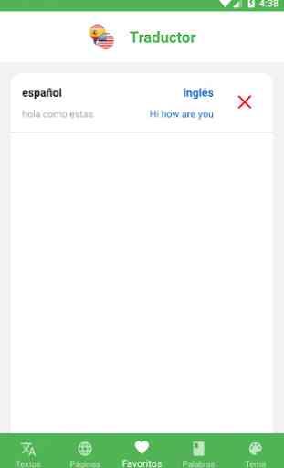 Traductor Inglés - Español de Voz y Texto 3