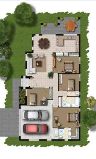 3d casa diseño 3
