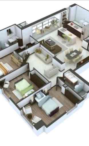 3d casa diseño 4