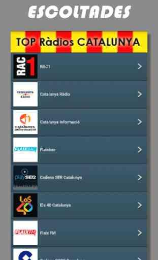 Radios de Cataluña FM online en directo - España 2
