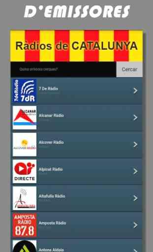 Radios de Cataluña FM online en directo - España 4