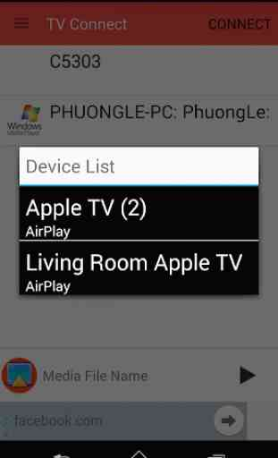 TV Connect: AirPlay, DLNA,CAST 2