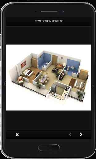 Nuevo diseño de hogar en 3D 2